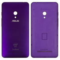 Задняя панель корпуса для мобильного телефона Asus ZenFone 5 (A501CG), фиолетовая, с боковыми кнопками