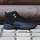 Мужские кроссовки в стиле Nike Air JORDAN 12, Реплика ААА, фото 3