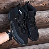 Мужские кроссовки в стиле Nike Air JORDAN 12, Реплика ААА, фото 5