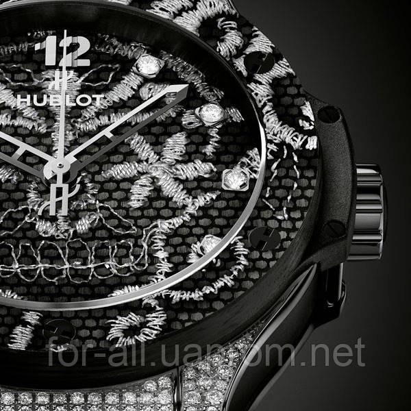 Необычные часы с элементами женственности Hublot Big Bang Broderie