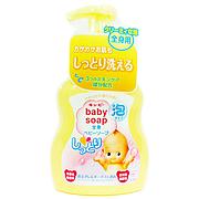 """Детское молочное увлажняющее мыло-пенка для тела """"Kewpie"""", (помпа 400ml)"""