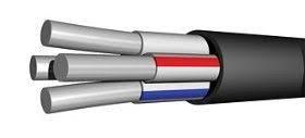 Кабель алюминиевый АВВГ 4х10 Энергопром