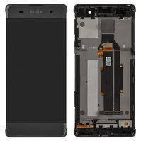 Дисплей для мобильных телефонов Sony F3111 Xperia XA, F3112 Xperia XA Dual, F3113 Xperia XA, F3115 Xperia XA, F3116 Xperia XA Dual, серый, с сенсорным