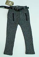 Модные трикотажные  лосины для девочки рост 98, 122-28 см, фото 1