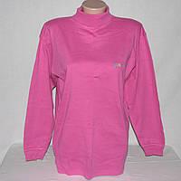 Хлопковый розовый гольф Paco, реглан  женский р.48-50