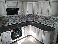 Кухня Платинум МДФ 2,25х1,9м с LED подсветкой, фото 1