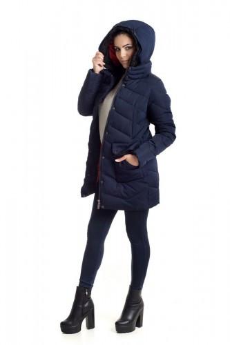 Зимняя куртка 018 Синий