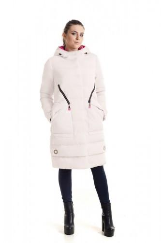 Зимняя куртка 309 Беж