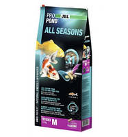 Корм JBL Pro Pond All Seasons M 3in1 31,5L 5.8kg для прудовых рыб