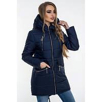 Зимова куртка 49 Синій, фото 1