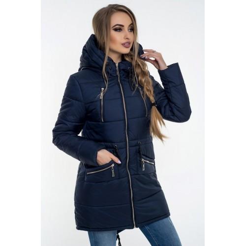 Зимова куртка 49 Синій