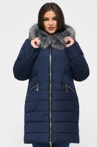 Зимняя куртка Герда Синий