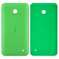 Задняя панель корпуса для мобильных телефонов Nokia 630 Lumia Dual Sim, 635 Lumia, зеленая, с боковыми кнопками