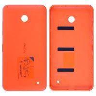 Задняя панель корпуса для мобильных телефонов Nokia 630 Lumia Dual Sim, 635 Lumia, оранжевая, с боковыми кнопками