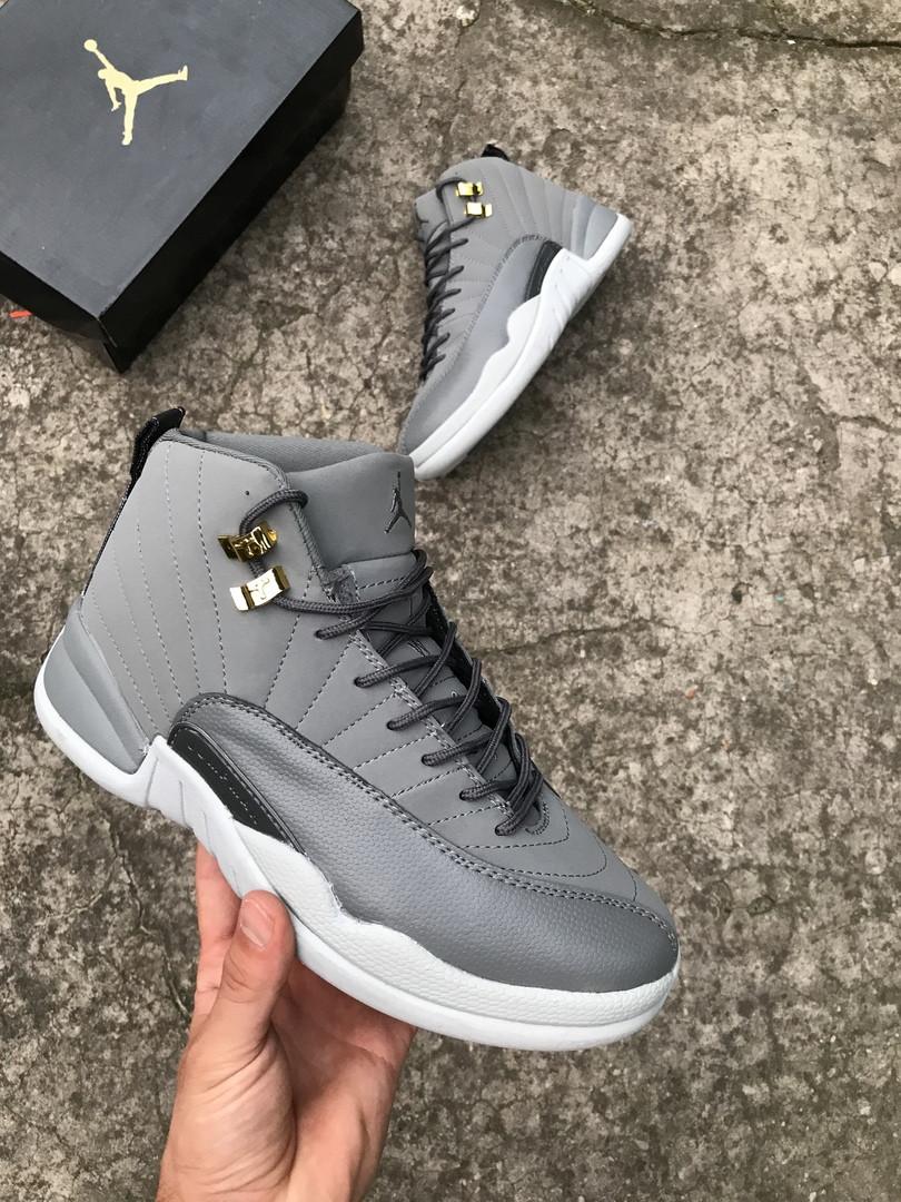 Мужские кроссовки в стиле Nike Air JORDAN 12, Реплика ААА