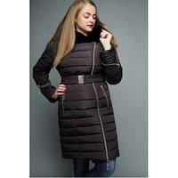 Зимова куртка №47 Баклажан