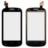 Сенсорный экран для мобильного телефона Alcatel One Touch 4033 POP C3, черный
