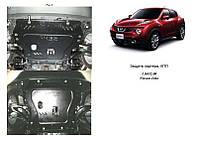 Защита на двигатель, КПП, радиатор для Nissan Juke (2011-) Mодификация: все Кольчуга 2.0432.00 Покрытие: Zipoflex