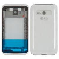 Корпус для мобильного телефона LG E510 Optimus Hub, белый