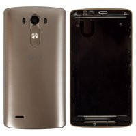 Корпус для мобильного телефона LG G3 D855, золотистый