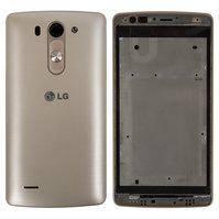 Корпус для мобильного телефона LG G3s D724, золотистый