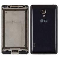 Корпус для мобильных телефонов LG P710 Optimus L7 II, P713 Optimus L7 II, синий
