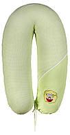 Подушка для кормления Ідея Стандарт (в сумке) салатовый (белая точка)