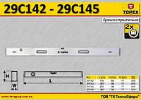 Правило строительное 2 глазка 250см,  TOPEX  29C144