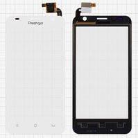 Сенсорный экран для мобильного телефона Prestigio MultiPhone 3450 Duo, белый, #QT052354506 WTP-C14.5BA-F