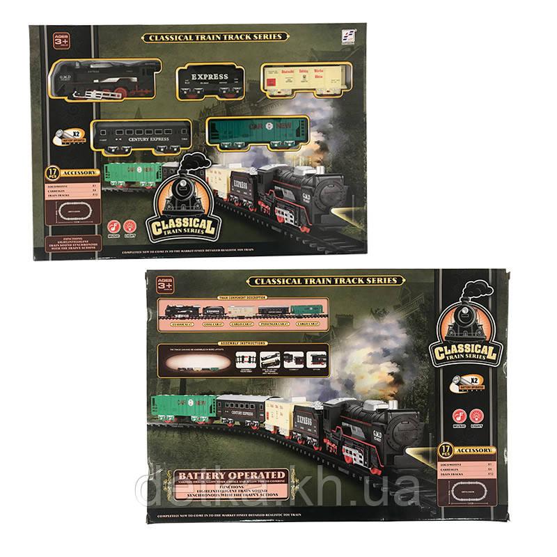 Железная дорога Play Smart 19058-3 батар.муз.свет.