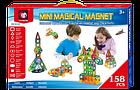 Конструктор магнитный Mini magical magnet 158 дет., фото 2