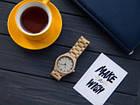 Деревянные наручные часы ручной работы WoodenWatch Numeric, фото 6
