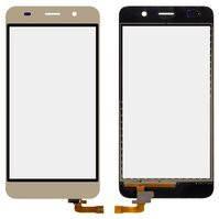 Сенсорный экран для мобильных телефонов Huawei Honor 4A, Y6, золотистый