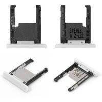 Держатель карты памяти для мобильного телефона Nokia 1520 Lumia, белый