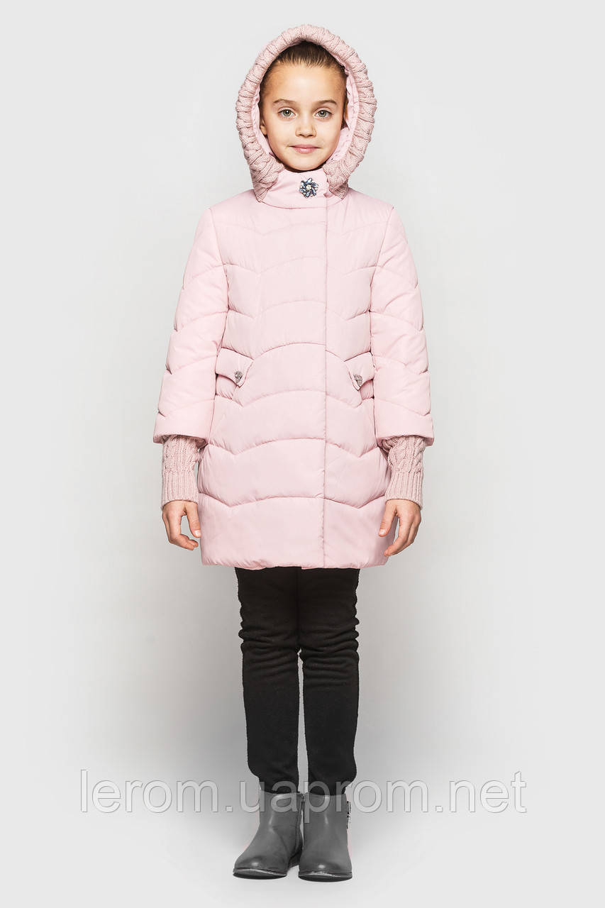 Куртка Cvetkov Лия Светлая пудра