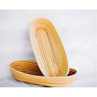 Форма для расстойки хлеба из ротанга овальная на 0,75 кг