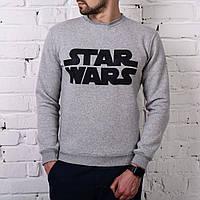 Мужской теплый свитшот Star Wars серая, фото 1