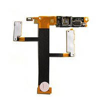 Шлейф для мобильного телефона Sony Ericsson W350, камеры, динамика, с компонентами