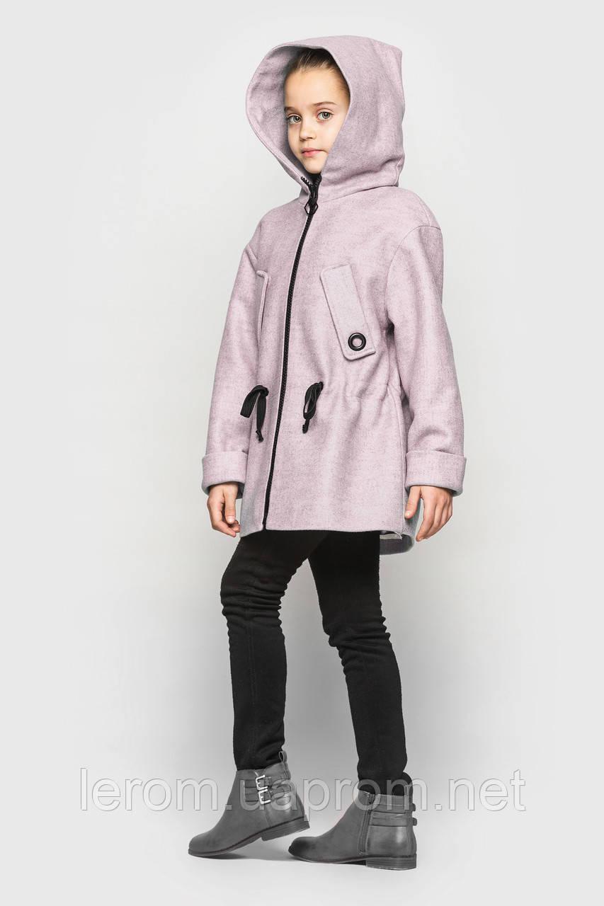 Кашемировое пальто Cvetkov Марта Розовый