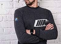 Мужская теплая футболка bmw реплика, фото 1