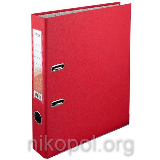 Сегрегатор (папка-регистратор) Delta by Axent, красная 5 см.