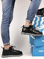 Мужские зимние ботинки Native Shoes Fitzsimmons  (черные), native, натив,