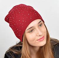 Милая шапка с турецкой пряжи