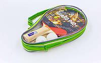 Набор для настольного тенниса  (2 ракетки+2 шарика) в чехле, фото 1