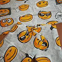 Детское постельное белье Смайлик, 100% Хлопок, Турция