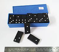 Настольная игра домино в пластиковой коробке, русское домино