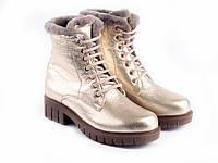Ботинки Etor 6623-21554 39 золотистые, фото 1