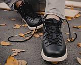 Мужские зимние ботинки Native Shoes Fitzsimmons  (black/white), native, натив черные, фото 2