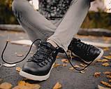 Мужские зимние ботинки Native Shoes Fitzsimmons  (black/white), native, натив черные, фото 3