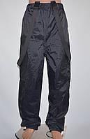 Мотоштаны, непромокаемые, плотные (XL) На подтяжках.